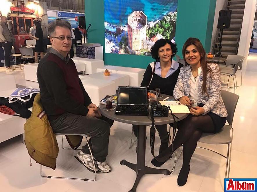 Ivana Dukcevic ile Elvan Güneş, Sırbistan Fuarı'nda görüşme yapmıştı.