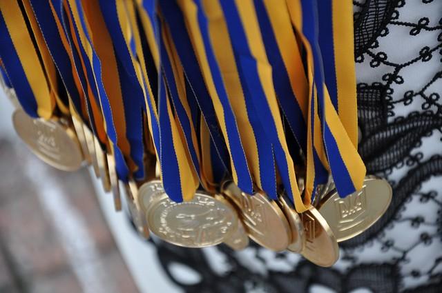 Парад випускників Рівне 2017