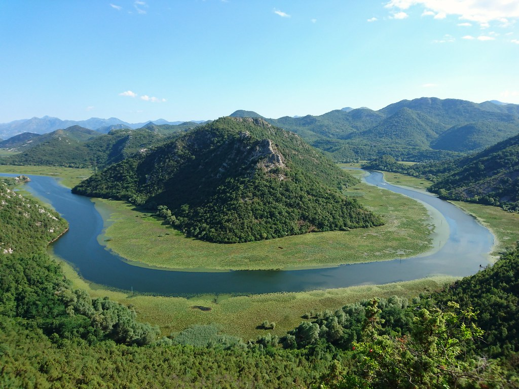 Horseshoe Bend, Lake Skadar
