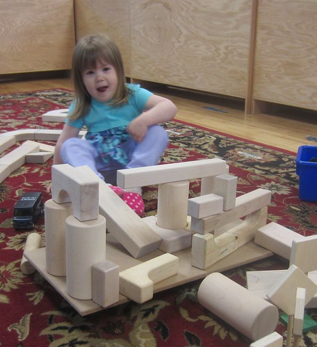 so proud of her block structure!