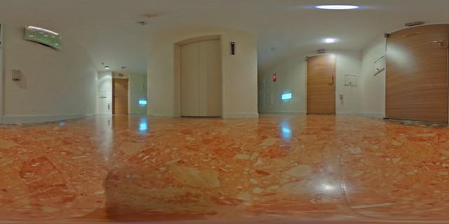 岡山Fine花園飯店走廊