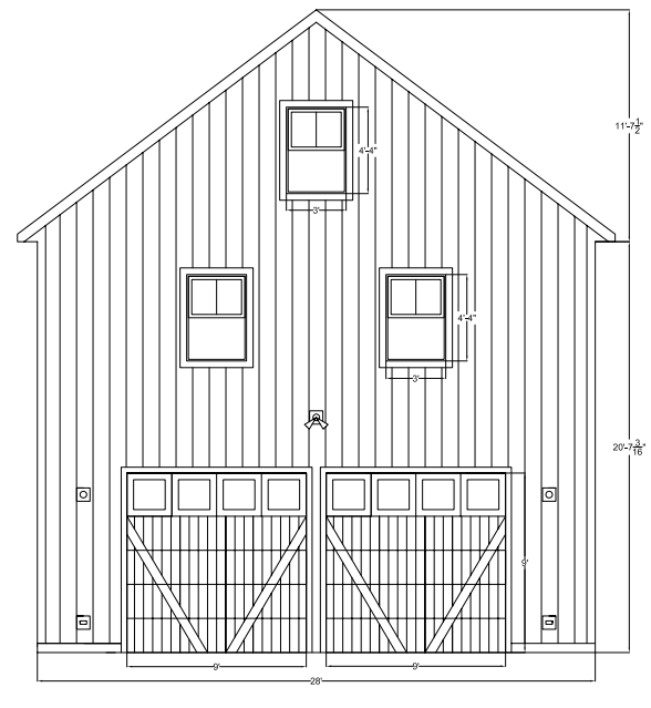Here Is An Example Of A House Nearby With Garage Next To It And The Garage  Is The Same Height, HOWEVER, The House Is A 1.5 Story, Ours Is 2 Full  Stories.