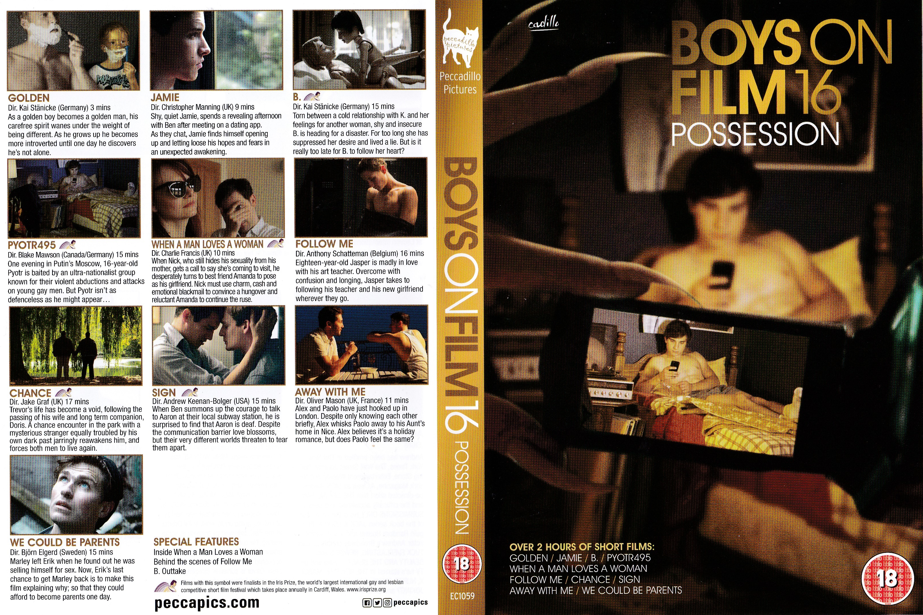 Boys On Film 16 Possession Front Cover