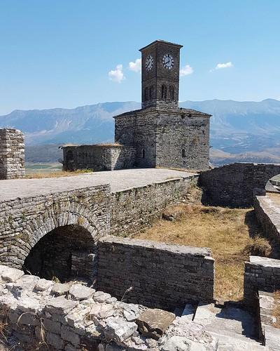 Castelo de Girokaster na Albania