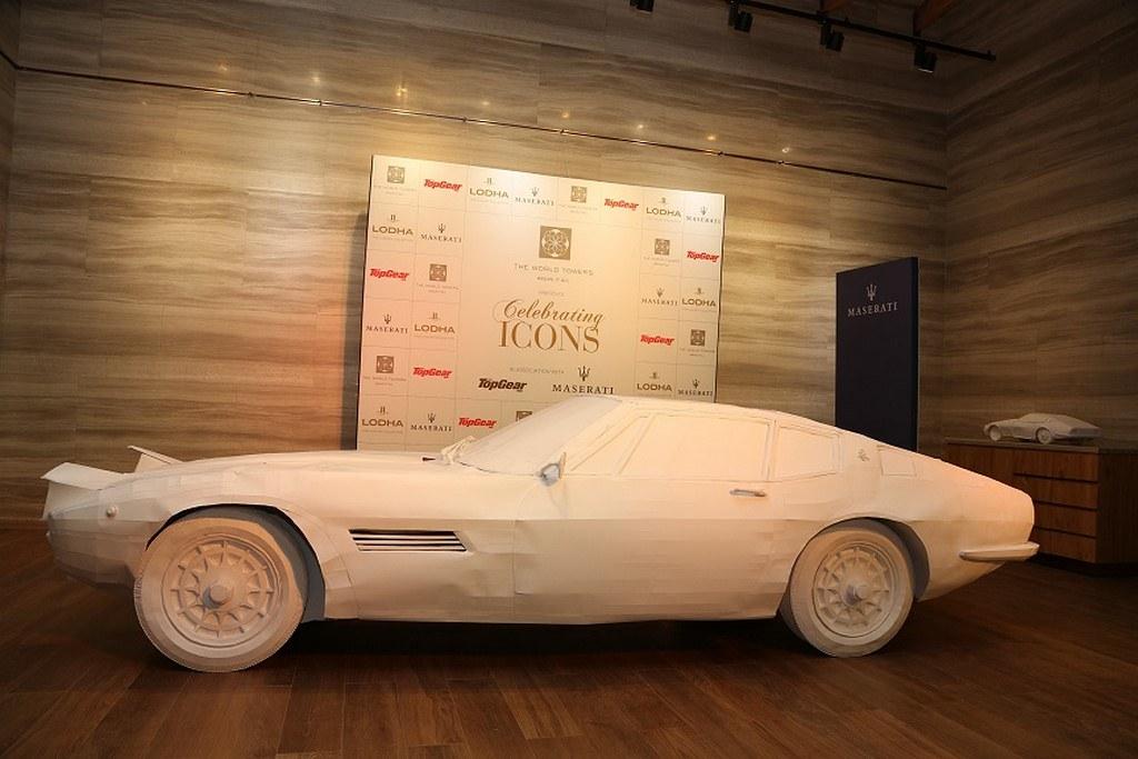 1967-Maserati-Ghibli-Paper-Art-Installation (2)