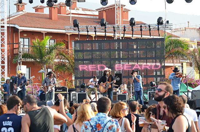Red Beard, Phe festival, Puerto de la Cruz, Tenerife