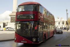 Wrightbus NRM NBFL - LTZ 1038 - LT38 - Pimlico 24 - Metroline - London 2017 - Steven Gray - IMG_8622