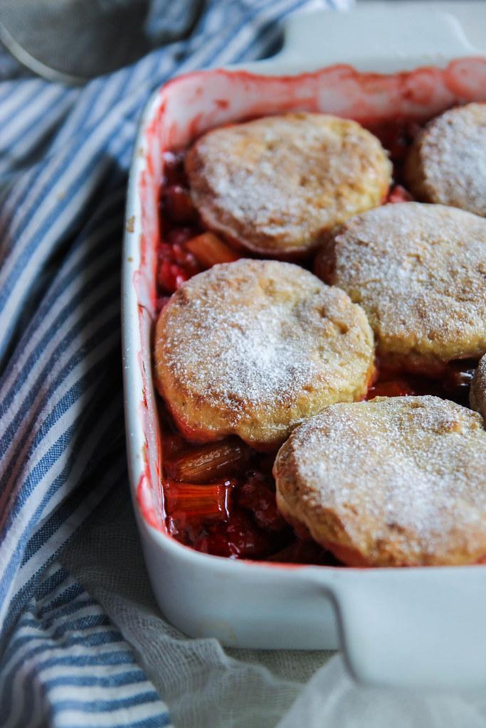 Cobbler fraise recette