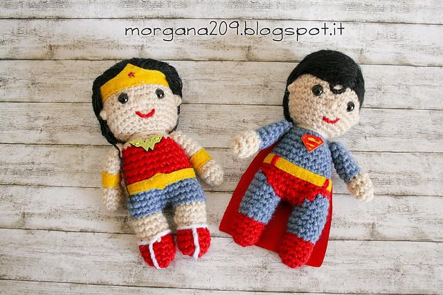 Superman&WonderwomanAmigurumi_01w