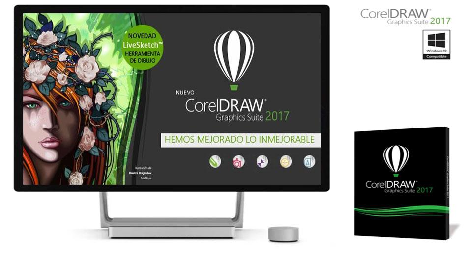 Conoce todas las novedades del Nuevo CorelDRAW Graphics Suite 2017