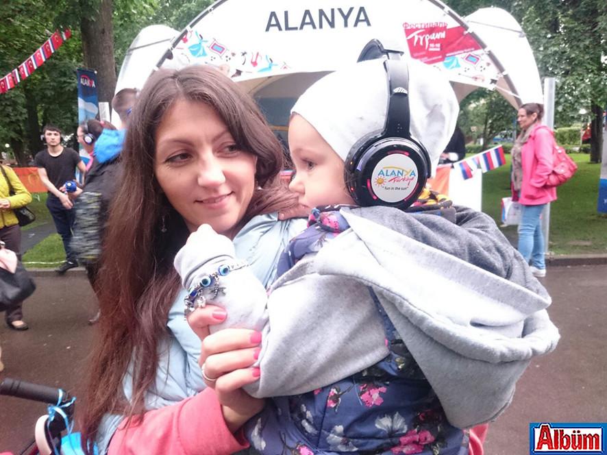 Moskova Krasnaya Presnya Parkı Türkiye Festivali9