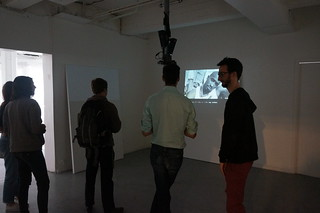 Impersonate - an installation by IVRO (Romain Marula & Ivan Murit) | by iMAL.org