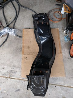 freshly powder coated K-Member from a 1963 Chevy C10