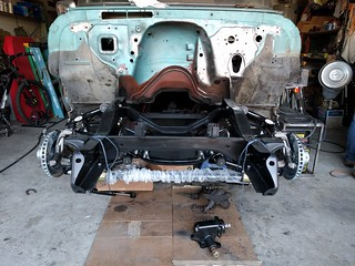 Front suspension on 1963 Chevy C10, no front clip or engine