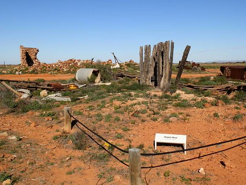Angels Rest, once a brothel in Farina, Outback South Australia