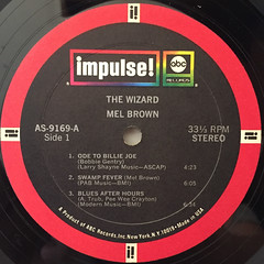 MEL BROWN:THE WIZARD(LABEL SIDE-A)