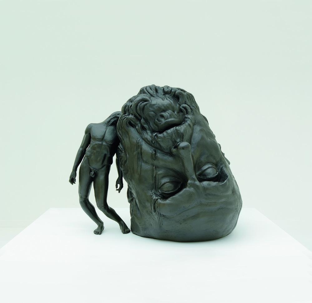 ウルトマス・ルルイ《生き残るには脳が足らない》(2009年、ロドルフ・ヤンセン画廊)