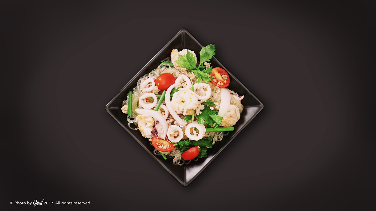 Thailand spicy Glass Noodles Salad