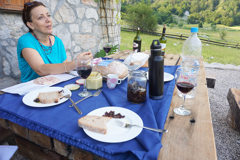 picnic in Bosnia