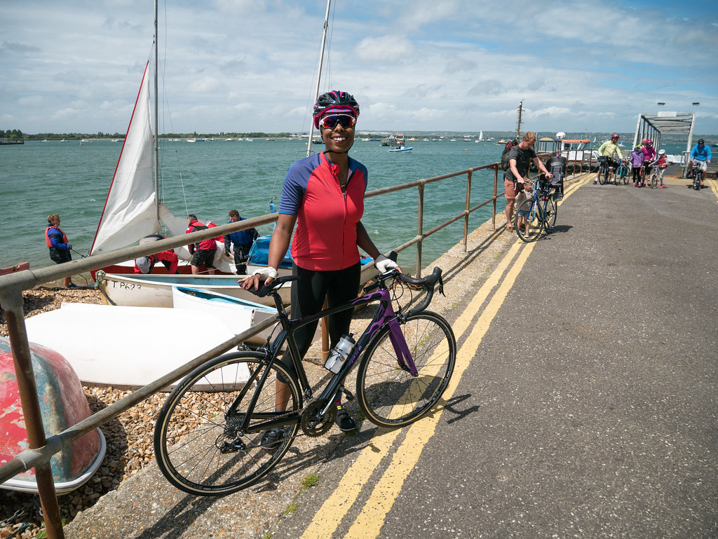 ladyvelo-premierinn-cycling-Hayling-Island-Bike