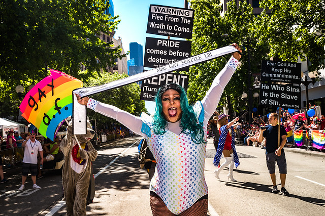 Seattle Pride Parade 2017 Photos by Nate Gowdy