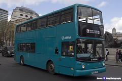 Dennis Trident 2 Alexander ALX400 - V628 LGC - DLA128 - Arriva - Driver Under Training - London 2017 - Steven Gray - IMG_8785
