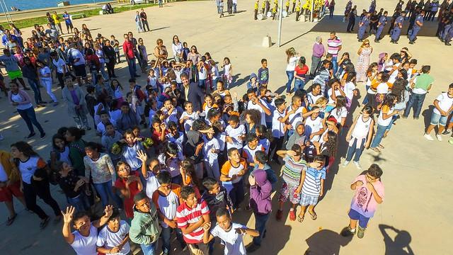 Momento Cívico em homenagem ao dia Mundial do meio ambiente