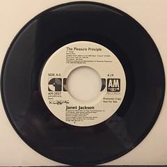 JANET JACKSON:THE PLEASURE PRINCIPLE(RECORD SIDE-A)