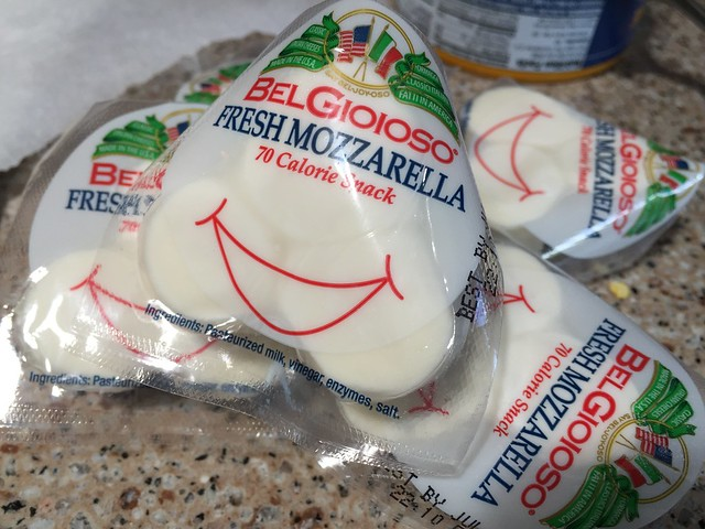 Trying new mozzarella