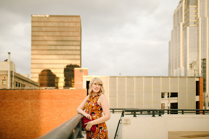 austin style blogger writes like a girl floral mustard dress4