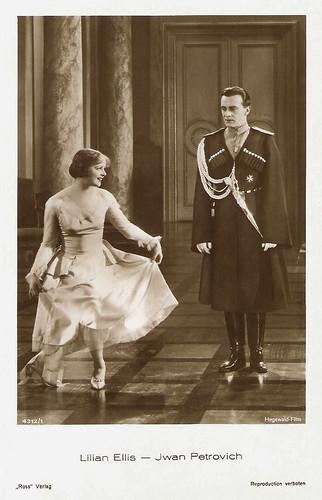 Lilian Ellis and Iván Petrovich in Der Leutnant Ihrer Majestät (1929)