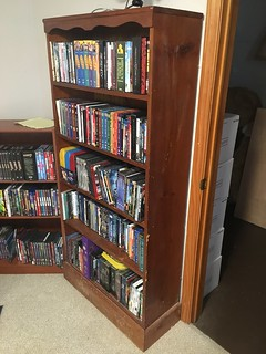 My grandfather's bookcase, I think.
