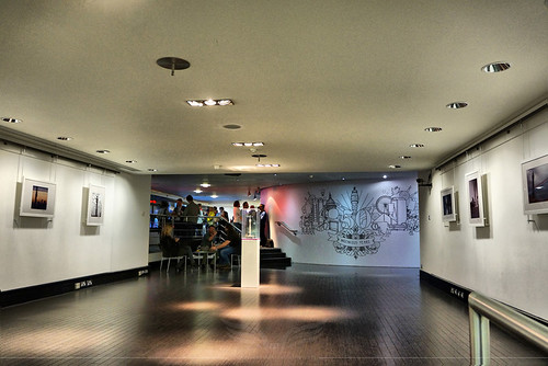 The Establishing Shot: FEAR THE WALKING DEAD - BT TOWER '50 YEARS OF INGENIOUS EXHIBITION FOYER @ BT TOWER