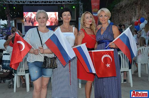 Oksana İgonina, Elena Kuznitova, Cemre Şafaktepe, Marina Kuzyireva