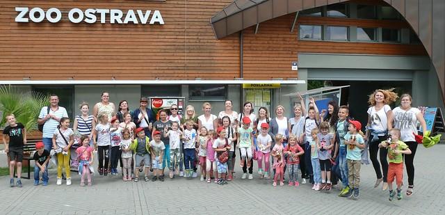Marynarze  w ZOO Ostrava