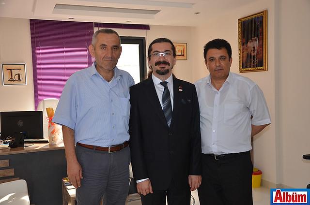 Birol Aydın, Cihan Duman, Sami Sincar
