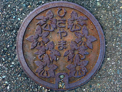 Hisayama Fukuoka, manhole cover 2 (福岡県久山町のマンホール2)
