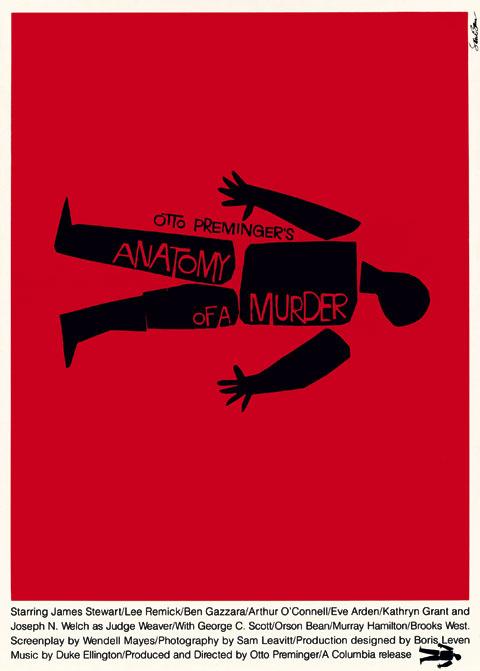 Anatomy of a Murder - Poster 1