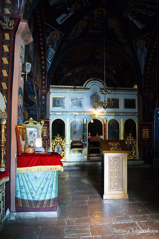 Интерьер храма Св. Троицы