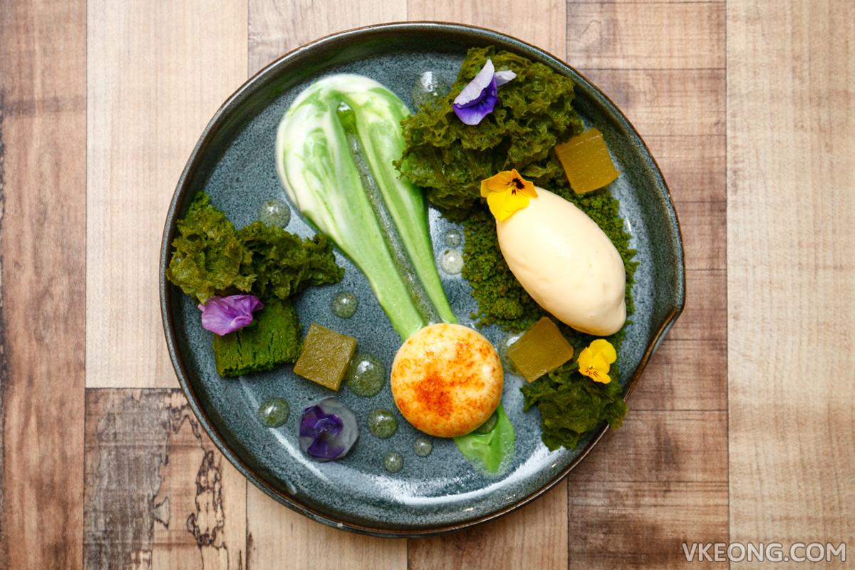 Foret Blanc Yuzu Garden Dessert