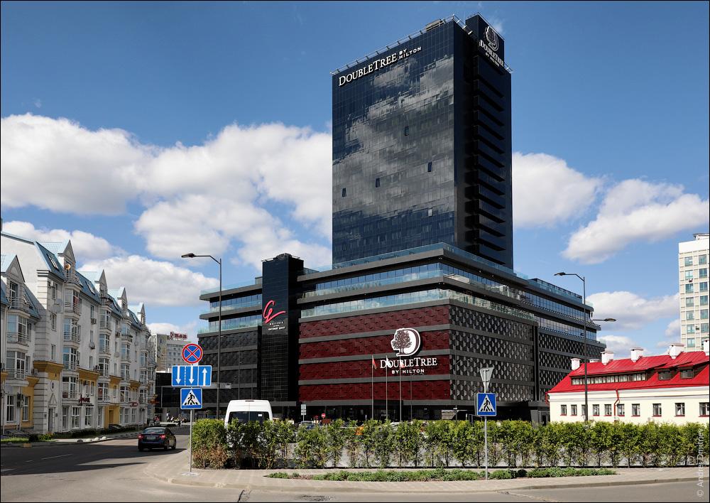 Отель Хилтон и Галерея-Минск