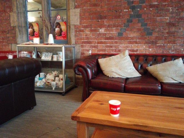 SOT first class lounge emma bridghewater saucer