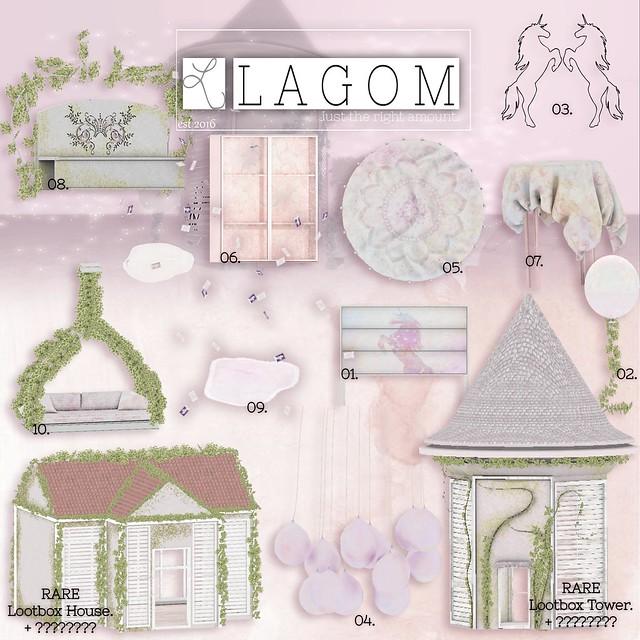 LAGOM - LOOTBOX - UNICORN HIDEOUT