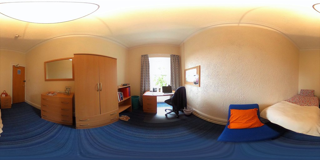 Student Apartments Single Bedroom | 360 degree image of a ...