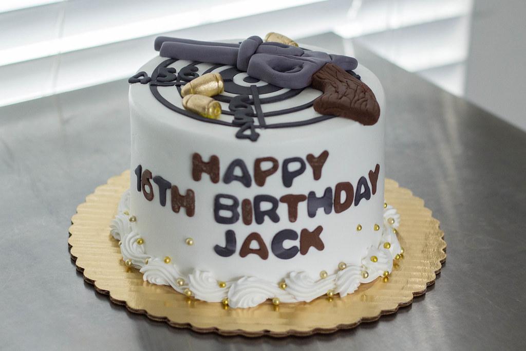 Revolver Target Cake Grace Ful Cakes Flickr