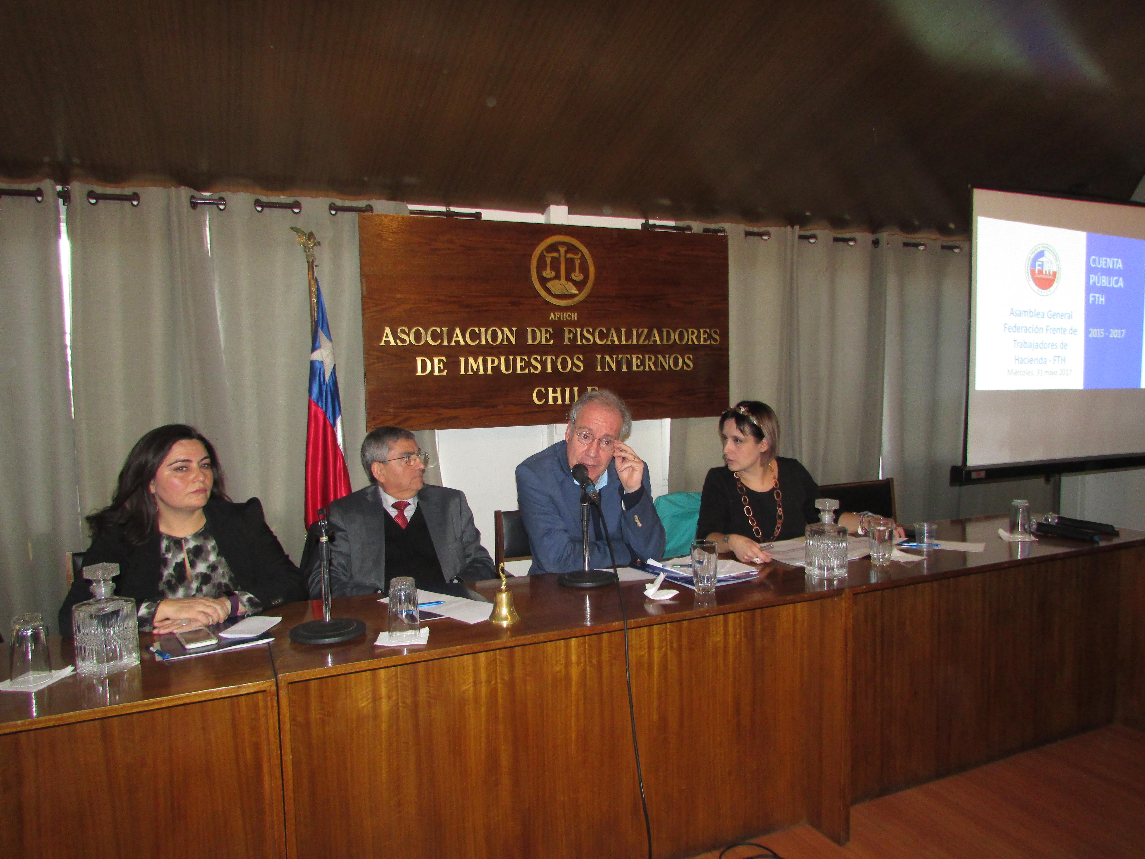 Constitución Directorio FTH periodo 2017 – 2019 / 31 Mayo 2017