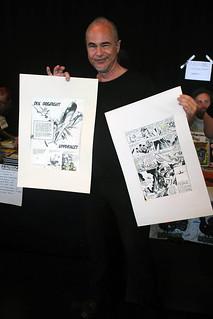 Mikael Grahn med Dix Dogfight-original.