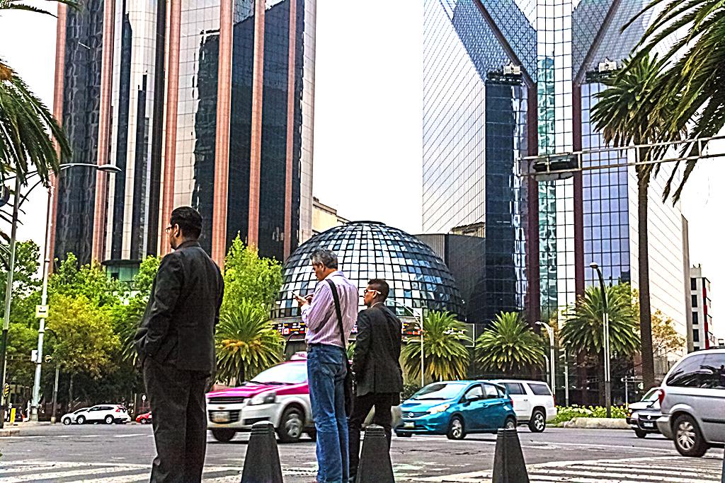 Reforma and Rio Rhin--Mexico City