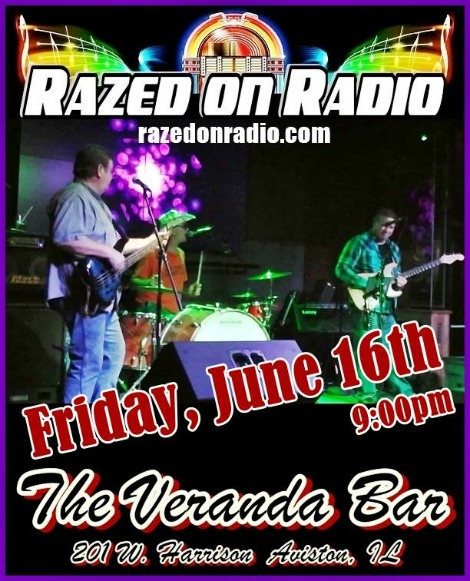 Razed On Radio 6-16-17
