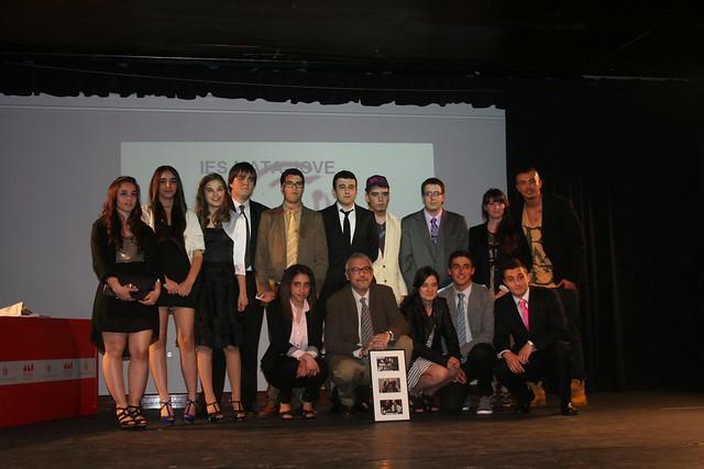 Graduación de 2º de Bachillerato. Mayo 2014